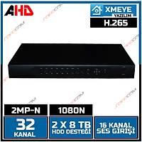 Safecam VR-5532 32 Kanal 1080N 2 MP AHD H265 Dvr Kayit Cihazý- 1809S