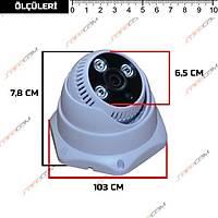 Safecam IC-3781 2 MP 3 Array Led 3.6MM Lens H265 IP Kamera /  1773S