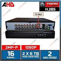Safecam HVR -G16 1080P 16 KANAL P6 AHD H265 DVR Kayit Cihazý / 1760S