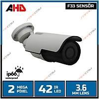 Safecam PM-9018 2 MP F33 42 LED 3.6 MM LENS AHD KAMERA-1686s