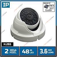 Safecam IC-8996 2 MP  Sony IMX-307 48 IR Led 3.6 MM Lens IP Dome Kamera-1706s