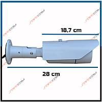 Safecam PM-6118  2 MP 42 IR  Led 3.6 MM Lens AHD Kamera /  1685s