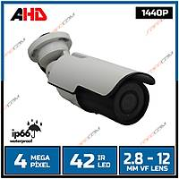 Safecam PM-9017 4 MP HD 1440P 42 LED 2.8-12MM VF AYARLABÝLÝR LENS AHD KAMERA-1702s