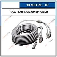 10 Metre Hazýr Fabrikasyon IP Kablo / 1431