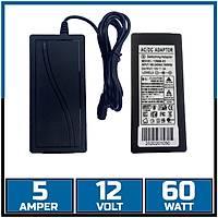 12V 5 Amper Kayýt Cihazý ve Güvenlik Kamerasý Adaptör  /  1611s