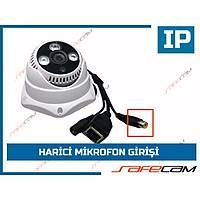 Safecam IC-3792 1,3 MP  3 Array Led 3,6 MM Lens Dome IP Kamera- 1413S