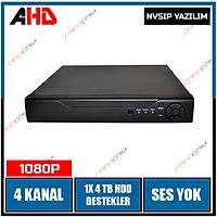 Safecam VR-AHD2104 4 Kanal Hybrid AHD Dvr  Kayit Cihazý / 1596