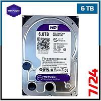 "6 TB Western Digital Purple 7/24  Sata3 3,5"" HDD - Harddisk - 1850"