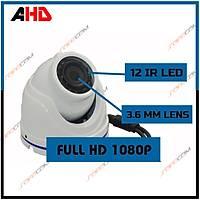 Safecam PM-8416 2 MP 12 Led 3.6 MM Lens AHD Mini Dome Kamera-1727s