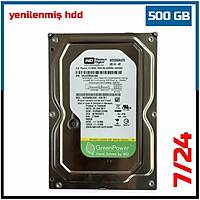 500 GB 7200RPM WESTERN DIGITAL AV-GP WD5000AVDS 32 Mb 7/24 Güvenlik Diski (6 Ay garantili)-1843