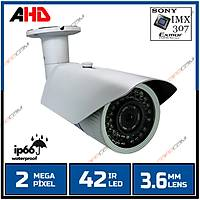 Safecam PM-6118  2 MP 42 IR  Led 3.6 MM Lens AHD Kamera /  1685s