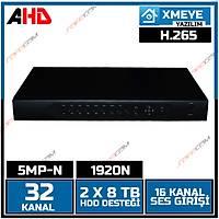 Safecam VR-5532 32 Kanal 5MP AHD H265 Dvr Kayit Cihazý- 1809S
