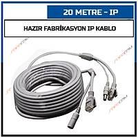 20 Metre Hazýr Fabrikasyon IP Kablo / 1432