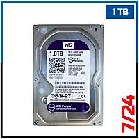 "1 TB Western Digital Purple 7/24  Sata3 3,5"" HDD - Harddisk - 1849"