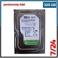 Western Digital  320GB 7200RPM AV-GP WD3200AVVS 8Mb Sata 3 7/24 Güvenlik Diski (6 Ay garantili)-1721