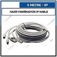 5 Metre Hazýr Fabrikasyon IP Kablo / 1540
