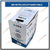 305 MT  BAKIR UTP CAT6 KABLO  0.55MM 23AWG - 1808