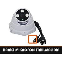 Safecam IC-3771 1.3 MP 3 ARRAY Led Sesli  IP Dome Kamera /  1728S