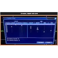 Safecam VR-AHD2108 8 Kanal 1080P Hybrid AHD Dvr  Kayit Cihazý / 1597S