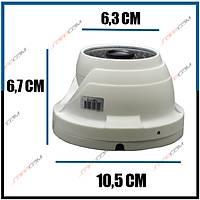 Safecam PM-8916 2 MP 48  Led 3.6 MM Lens AHD UTC Menü  Beyaz Metal Dome Kamera -1704s