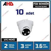Safecam PM-3720 MP F33 SENSOR  AHD  Dome Kamera -1739S X 10 ADET