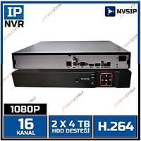 SAFECAM VR-N4216 NVSIP 16 KANAL 1080P NVR H264 / 1410S