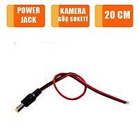 Kamera Güç Soketi - Power Jack Kablo 20 cm /1672s