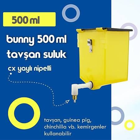 Bunny 500 ml Tavþan  ve Guinea Pig Suluk - CX Yaylý Nipel