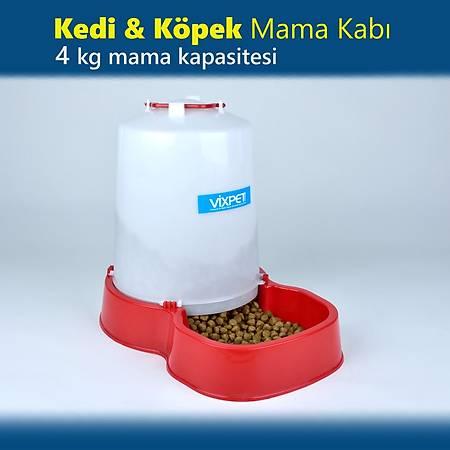 Kedi - Köpek Mama Kabý 4 Kg Mama Haznesi