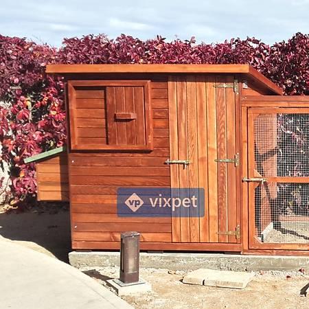 Vega Bahçeli Tavuk Kümesi 25 Tavuk Barýnabilir + Bahçe Seçenekli