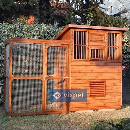 City Salma Kafesli Güvercin Kümesi 15 Çift Kapasiteli