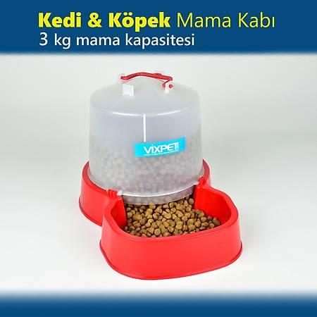 Kedi - Köpek Mama Kabý 3 Kg Mama Haznesi