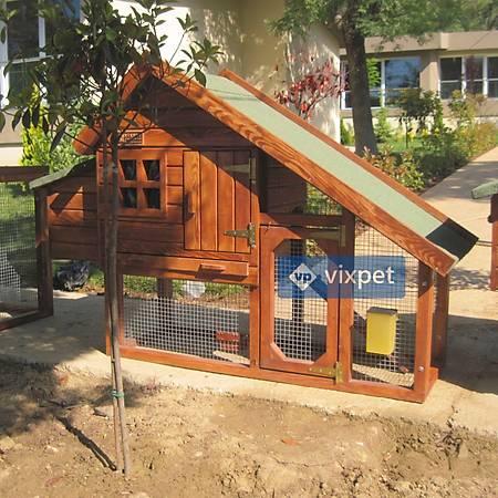 Aden Bahçeli Tavuk Kümesi 3-4 Tavuk Barýnabilir