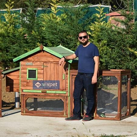Ares Bahçeli Tavþan Kafesi