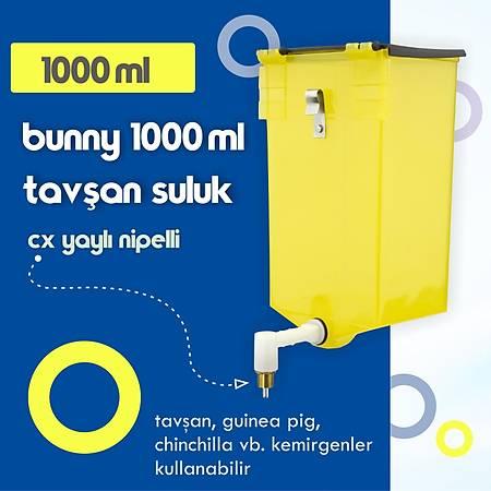 Bunny 1000 ml Tavþan ve Guinea Pig Suluk - CX Yaylý Nipel