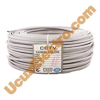 100 Metre Begas 2+1 0,50mm CCTV Kablo