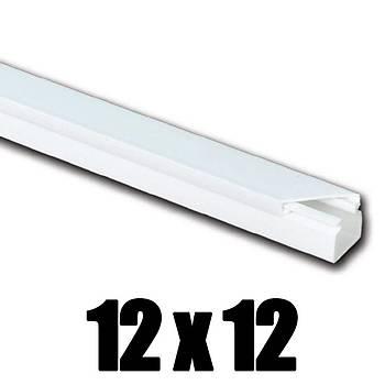 12x12 Kablo Kanalý Yapýþkanlý