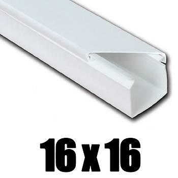 16x16 Kablo Kanalý Yapýþkanlý