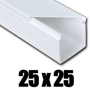 25x25 Kablo Kanalý Yapýþkanlý