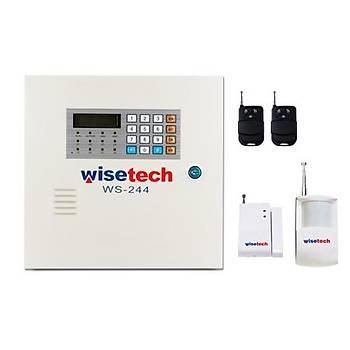 Wisetech WS-244 Kablosuz Alarm Seti