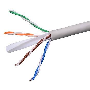 305 Metre CAT6 UTP 23 AWG Saf Bakýr Network Data Kablosu