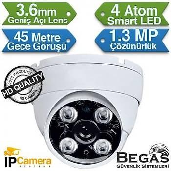 BEGAS 4430 1.3mp Dome IP Güvenlik Kamerasý (960p)