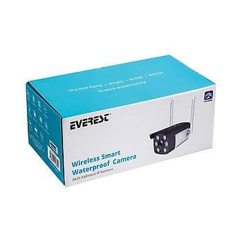 Everest DF-871W 2.0 MP 1/3 Renkli Cmos Su Geçirmez Wifi Camera TF Kartlý Güvenlik Kamerasý Yoosee