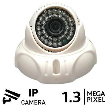 BEGAS VZ 5536 1.3mp IP Dome Güvenlik Kamerasý (960p)