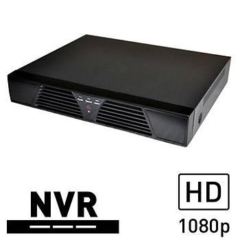 BEGAS 44-1 NVSIP/XMEYE 4 Kanal NVR Kayýt Cihazý