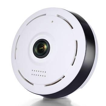BEGAS BF 360 Derece Panaromik Tavan Tipi Wi-Fi (Kablosuz) Ip Kamera
