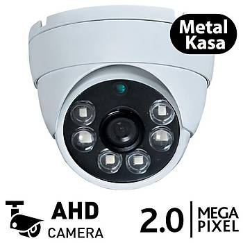 BegasPro BB 3066D 2.0mp AHD Metal Kasa Dome Güvenlik Kamerasý (1080p)