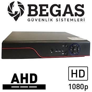 BEGAS OX 988 1080P 8 Kanal AHD Kayýt Cihazý (2.0mp) - XMEYE