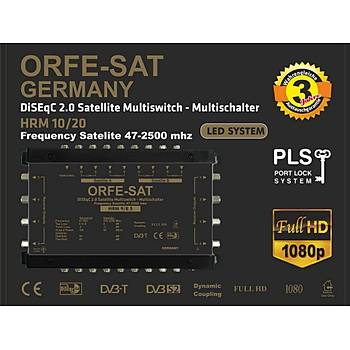ORFE-SAT GERMANY 10/48 Merkezi Uydu Santralleri