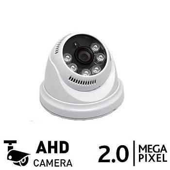 BegasPro OX 936 2.0mp AHD Dome Güvenlik Kamerasý (1080p)